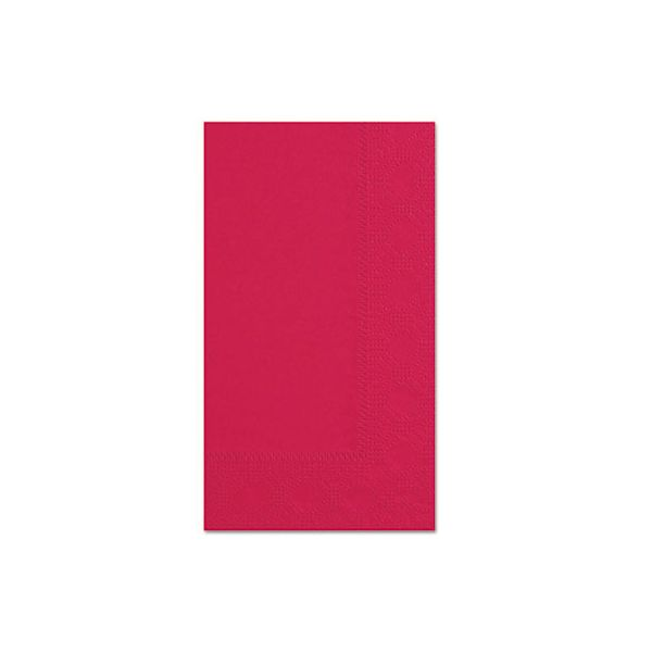 Hoffmaster Dinner Napkins, 2-Ply, 15 x 17, Red, 1000/Carton