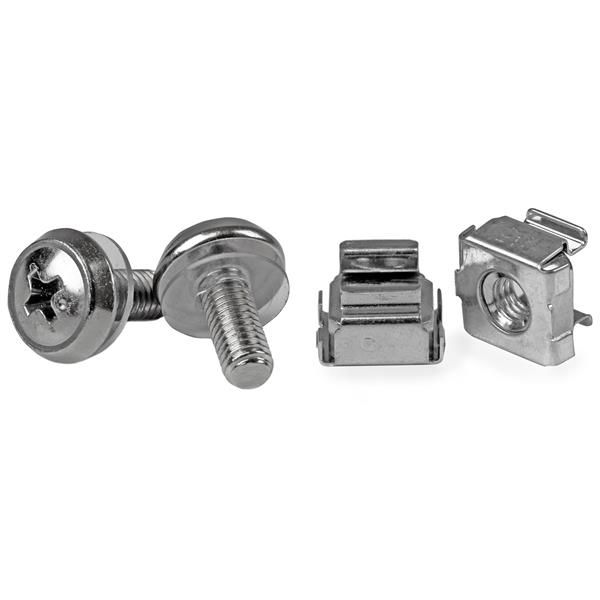 StarTech.com 50 Pkg M5 Mounting Screws and Cage Nuts for Server Rack Cabinet
