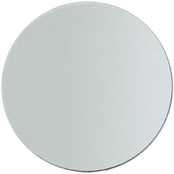 Darice Round Glass Mirror