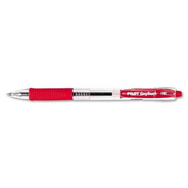 Pilot EasyTouch Retractable Ballpoint Pens