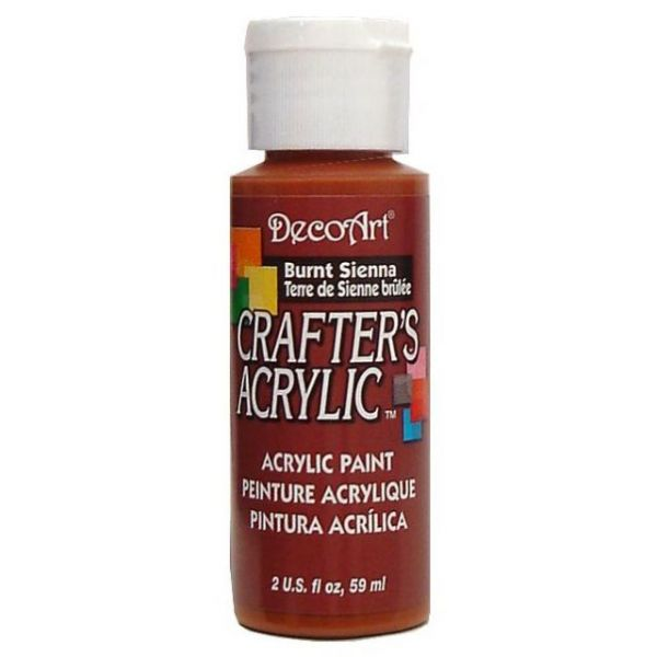 Deco Art Burnt Sienna Crafter's Acrylic Paint