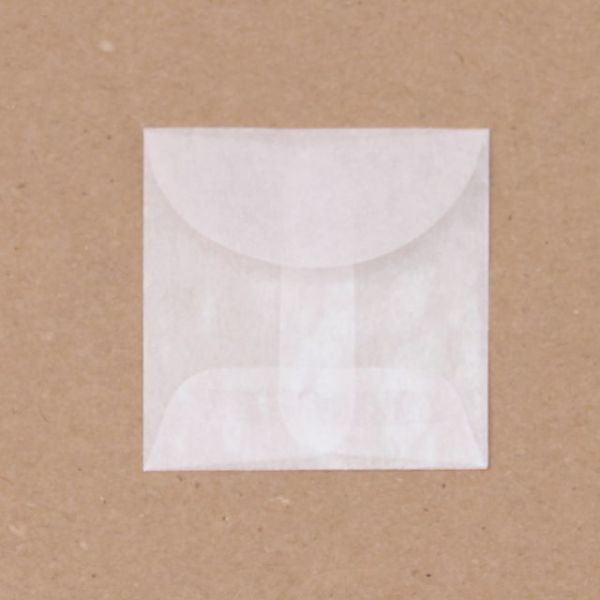 """Glassine Envelopes 2""""X2"""" 12/Pkg"""