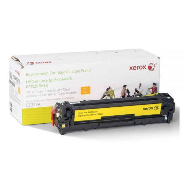 Xerox Remanufactured HP CE322A Yellow Toner Cartridge