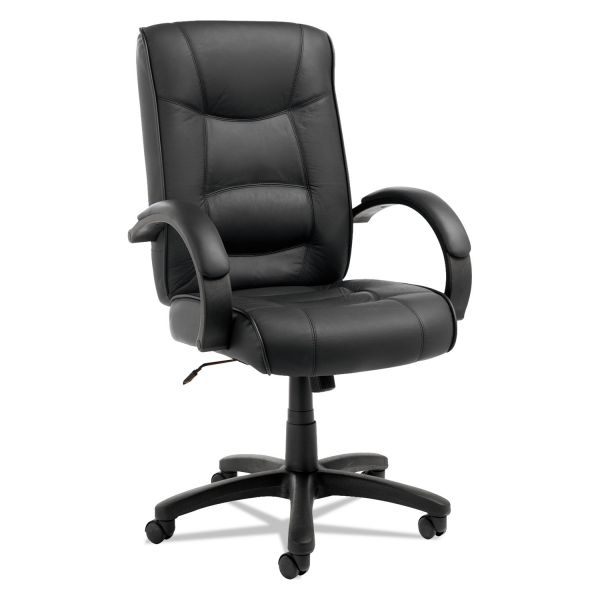 Alera Strada Series High-Back Swivel/Tilt Office Chair