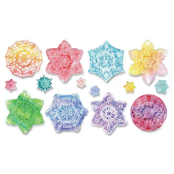 Creativity Street Snowflake Embossed Paper Set