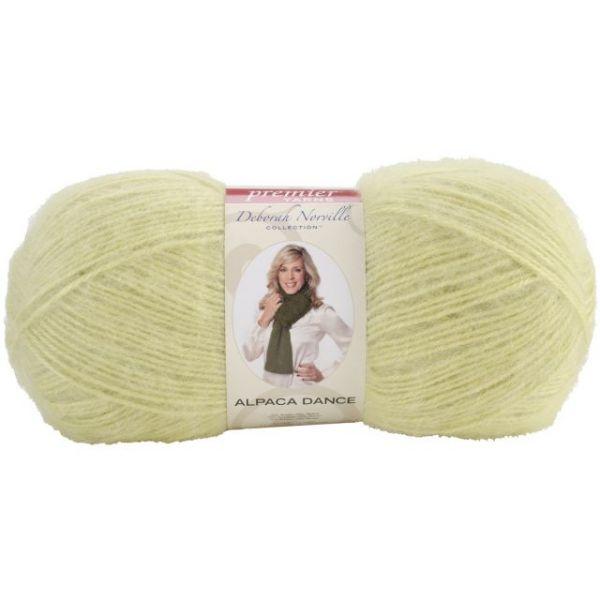 Deborah Norville Collection Alpaca Dance Yarn - Lemon-Lime