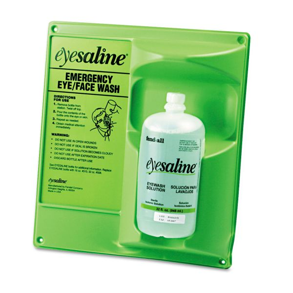 Eyesaline Single Eye Wash Station