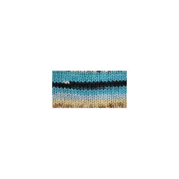 Patons Kroy Socks Yarn - Turquoise Jacquard