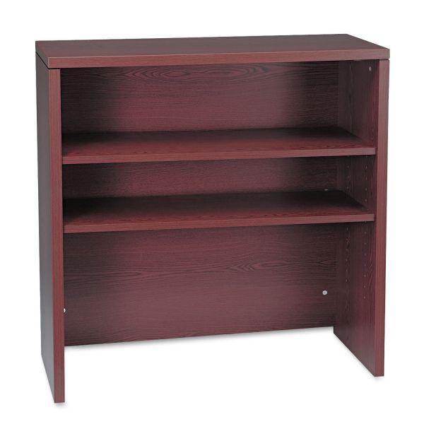 HON 10500 Series Bookcase Hutch, 36w x 14-5/8d x 37-1/8h, Mahogany