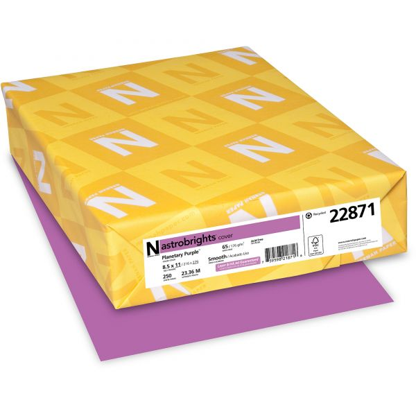 Neenah Paper Astrobrights Planetary Purple Colored Card Stock