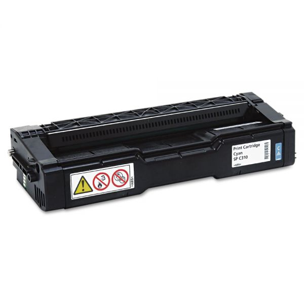 Ricoh 406476 Cyan High Yield Toner Cartridge