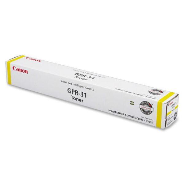 Canon GPR-31 Yellow Toner Cartridge (2802B003AA)