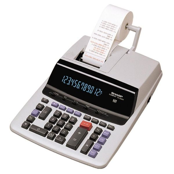 Sharp VX2652H Commercial Black & Red Printing Calculator