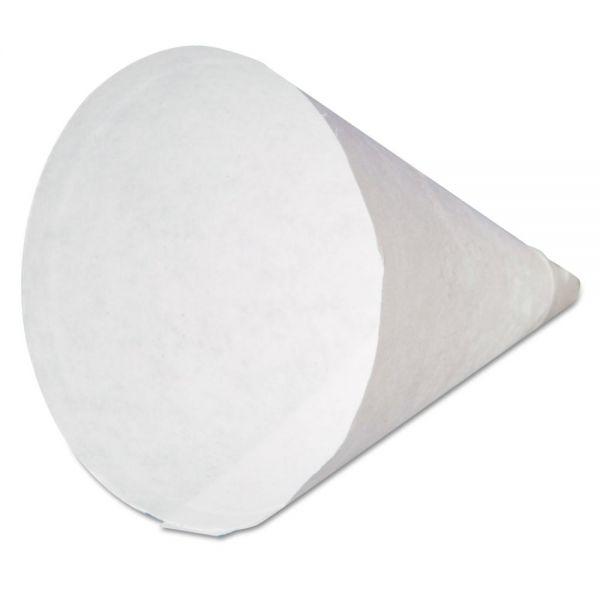 Genpak 4 oz Paper Cone Water Cups