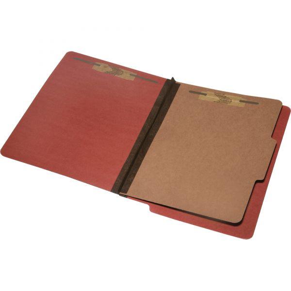 SKILCRAFT 4-Part End Tab Classification Folders