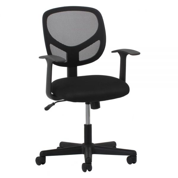 Essentials by OFM Swivel Mesh Task Chair with Arms