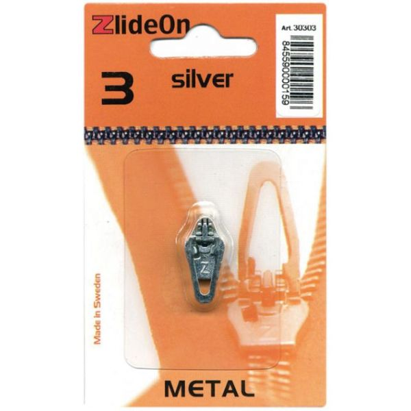ZlideOn Zipper Pull Replacements Metal 3