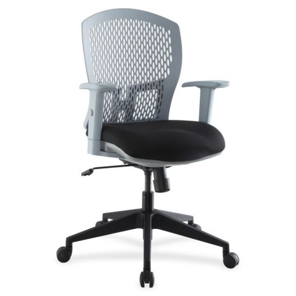 Lorell Plastic Back Flex Task Chair