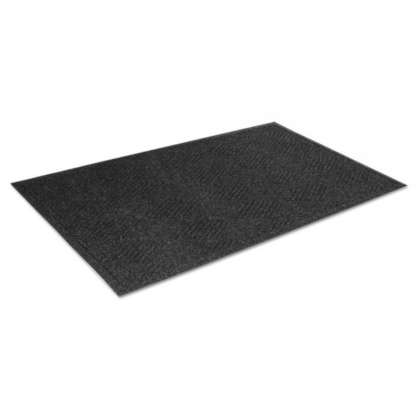 Crown Super-Soaker Diamond Indoor Floor Mat with Fabric Edging