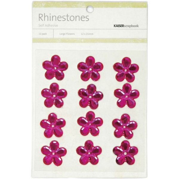 Self-Adhesive Flower Rhinestones
