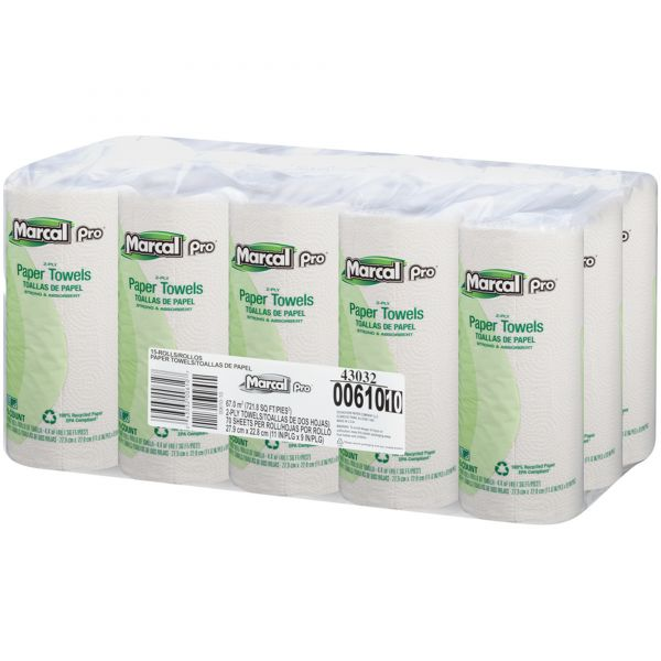 Marcal Pro 100% Premium Recycled Paper Towels