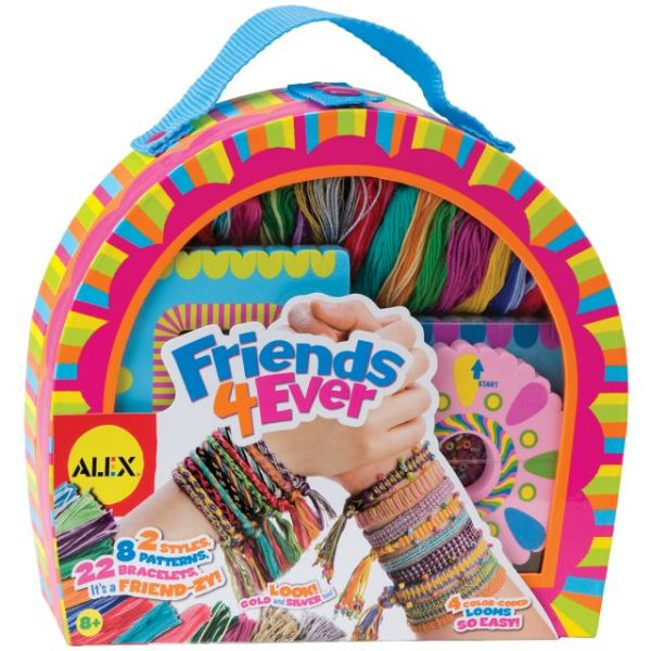 ALEX Toys Do-It-Yourself Friends 4 Ever Jewelry Kit