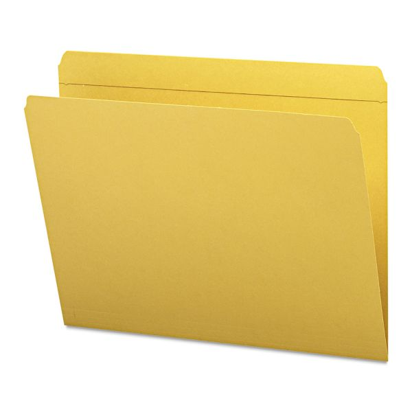 Smead Goldenrod Colored File Folders