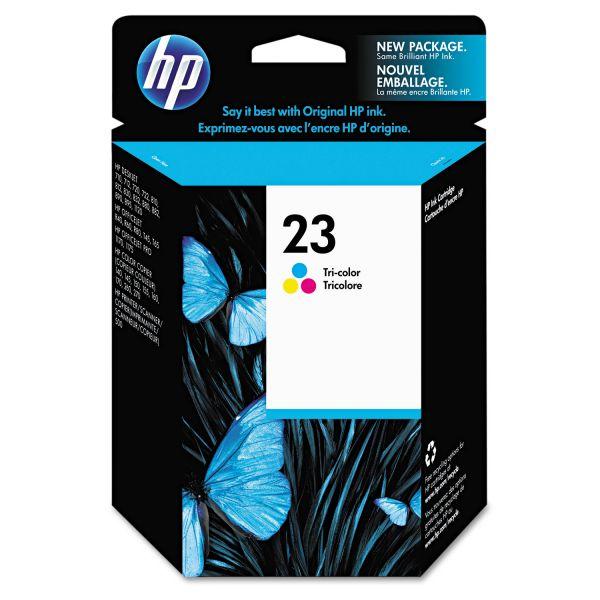 HP 23 Tri-Color Ink Cartridge (C1823D)