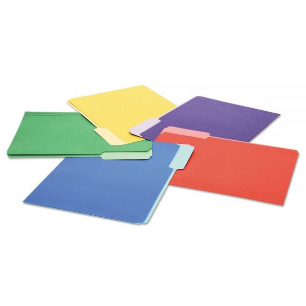Universal Colored File Folders