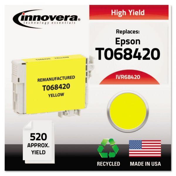 Innovera Remanufactured Epson T068420 High-Yield Ink Cartridge