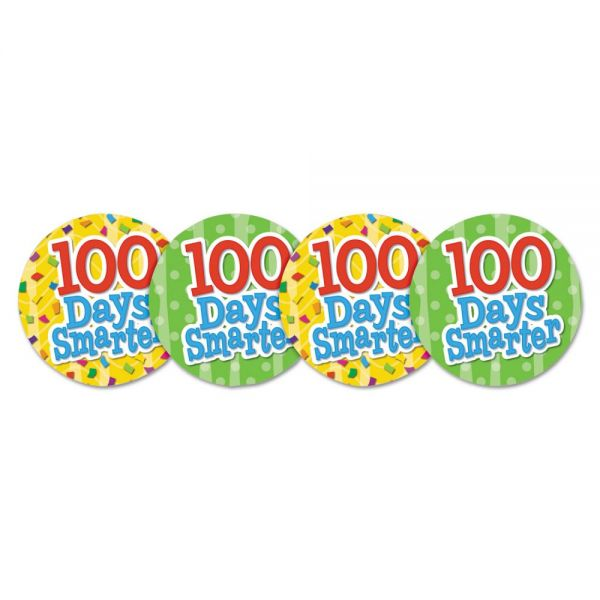 Teacher Created Resources 100 Days Smarter Wear 'Em Badges