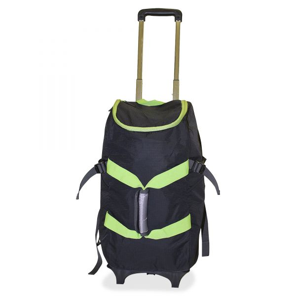 "Dbest Carrying Case (Rolling Backpack) for 17"" Notebook - Green, Black"