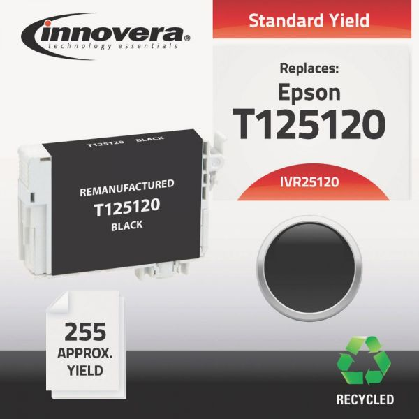 Innovera Remanufactured Epson 125 (T125120) Ink Cartridge