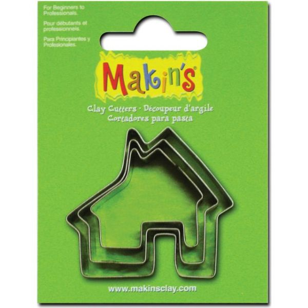 Makin's Clay Cutters 3/Pkg