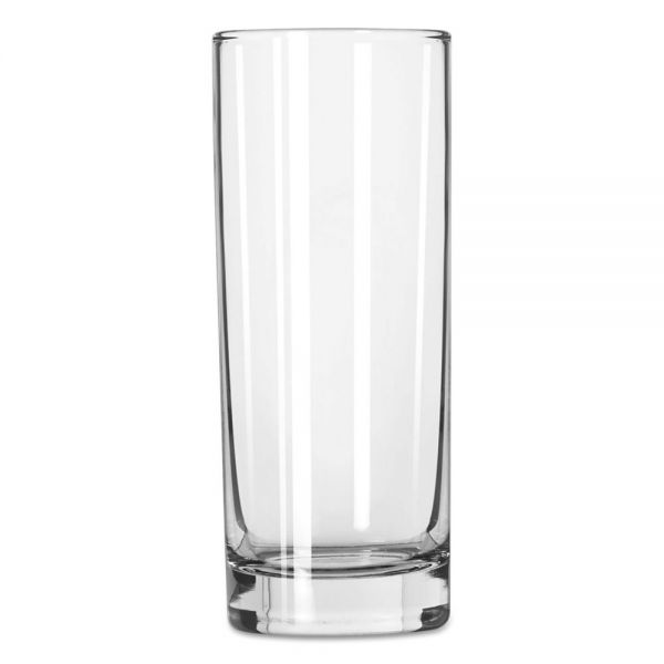 "Libbey Lexington Glass Tumblers, Tall Hi-Ball, 10oz, 6"" Tall, 36/Carton"