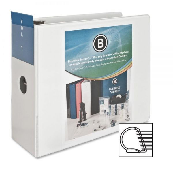 "Business Source 5"" 3-Ring View Binder"