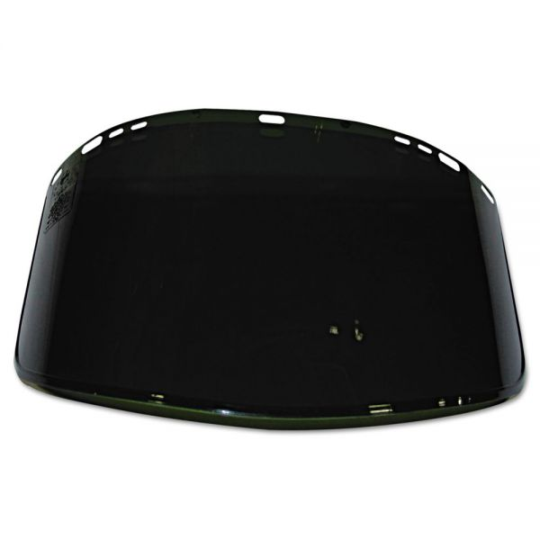 Jackson Safety* 915-63 F40 Propionate Face Shield Visor, Dark Green