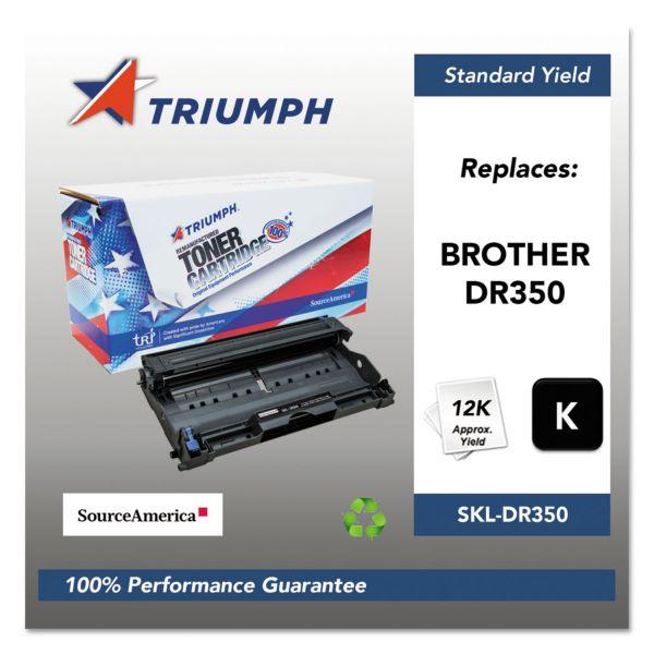 Triumph 751000NSH0341 Remanufactured DR350 Drum Unit, Black