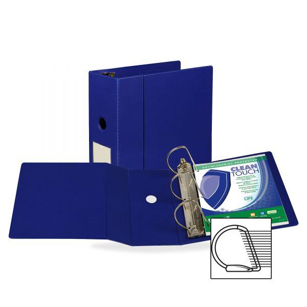 "Samsill Antimicrobial Locking 5"" 3-Ring Binder"