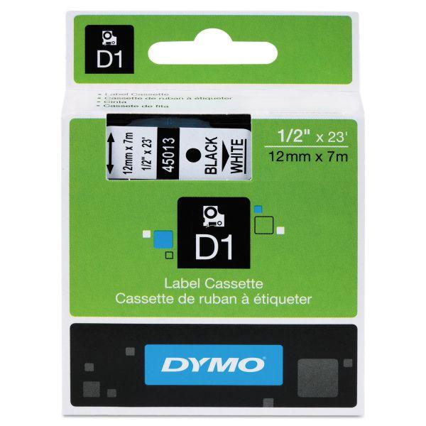 """Dymo D1 Standard 1/2"""" Label Tape Cartridge"""