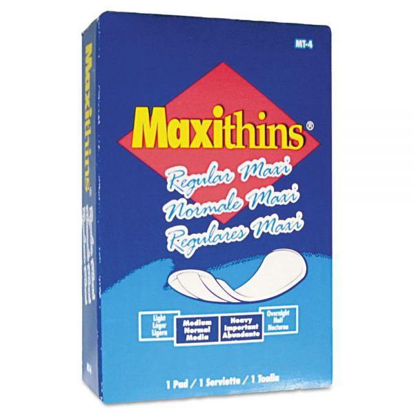 Hospital Specialty Co. Maxithins Sanitary Pads, 100/Carton