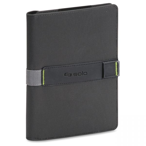 "Solo Surge Universal Tablet Case for 5.5"" to 8.5"" Tablets, Black/Gray"
