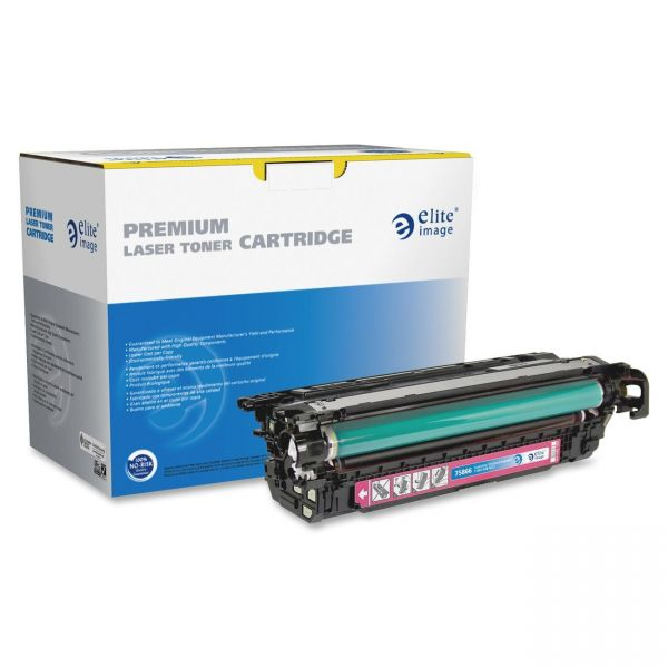 Elite Image Remanufactured HP 646A Magenta Toner Cartridge
