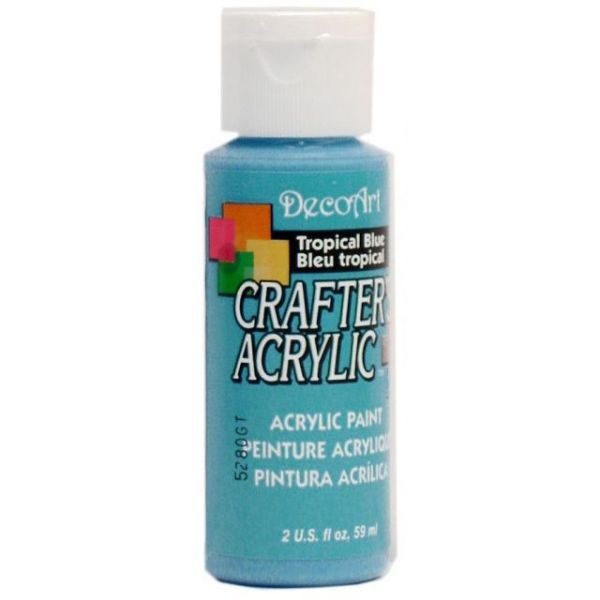 Deco Art Tropical Blue Crafter's Acrylic Paint