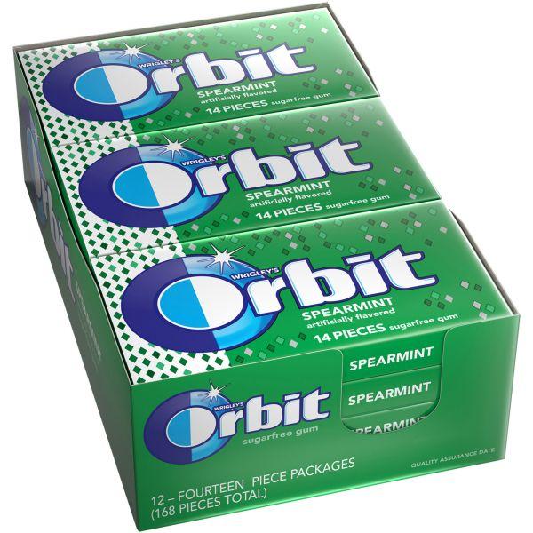 Orbit Spearmint Sugar-free Gum