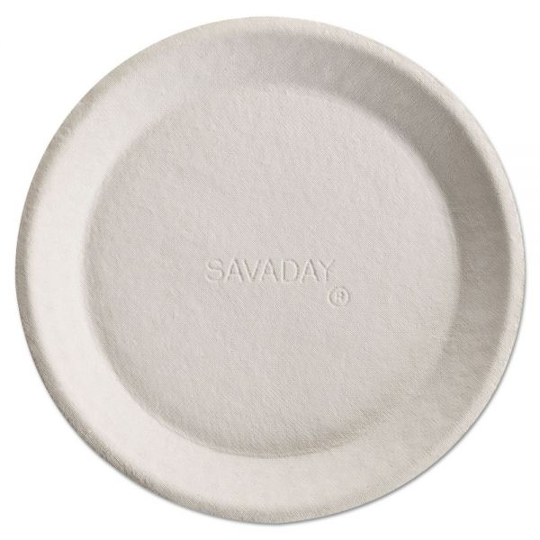 "Chinet Savaday 10"" Molded Fiber Plates"