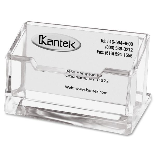 Kantek Acrylic business Card Holder