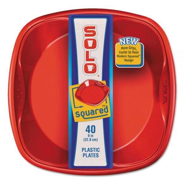 SOLO Cup Company Squared Plastic Plates