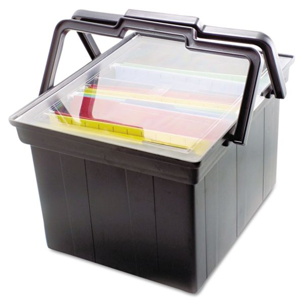 Advantus Companion Portable File Box With Handles