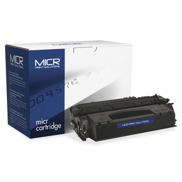 MICR Print Solutions Remanufactured HP Q7553X Black High Yield Toner Cartridge